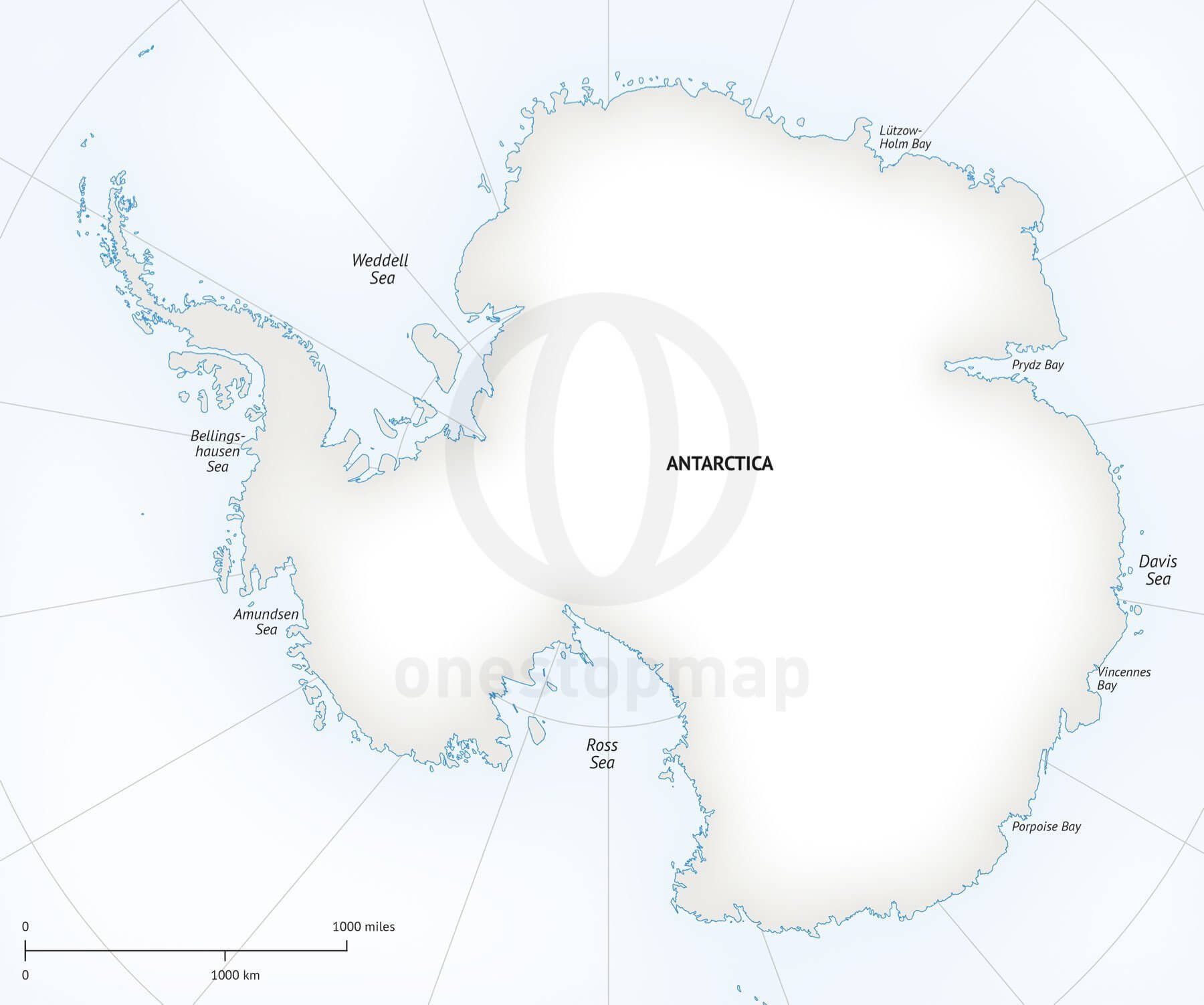 Pin Printable Antarctica Map Collection