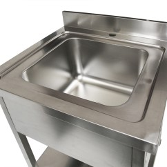 Stainless Steel Single Bowl Kitchen Sink Best Brand For Appliances 700x700 New Commercial 304