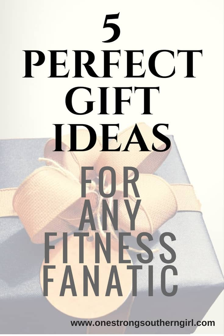 5 Perfect Gift Ideas for Any Fitness Fanatic-One Strong Southern Girl-A bunch of great gift ideas (you may not have thought about) for anyone who loves to exercise