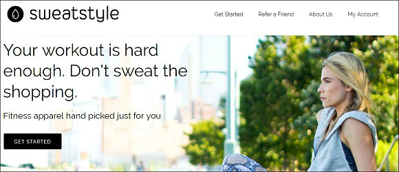 Sweatstyle Home Page Image
