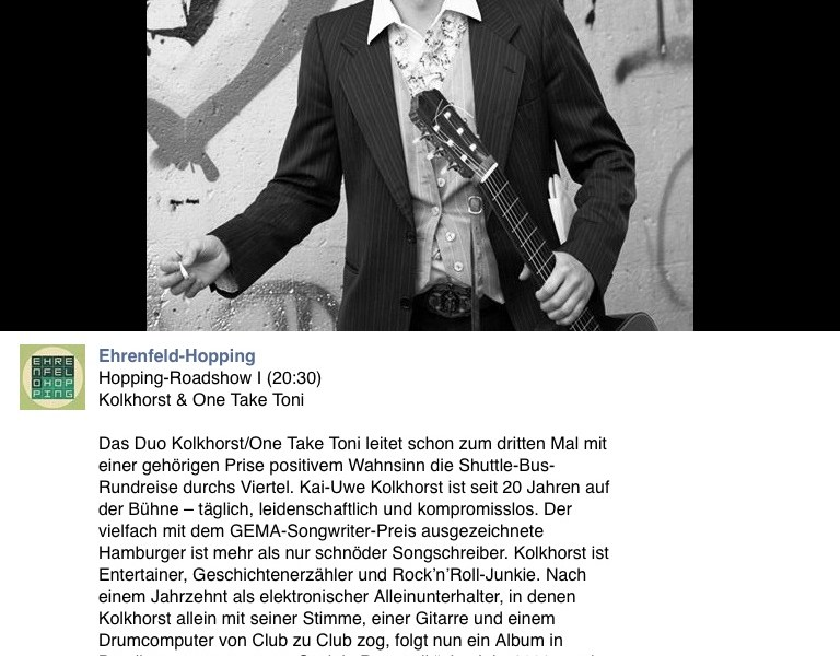 Ehrenfeld Hopping 2014