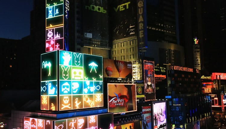 Nokia Lumia 900 Launches In Times Square – Atmosphere