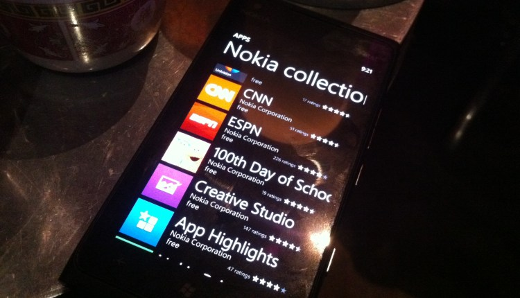 Nokia Collection apps from the Windows Phone Marketplace