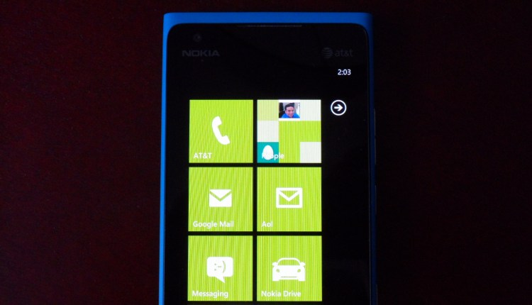 Live Tiles on the Nokia Lumia 900