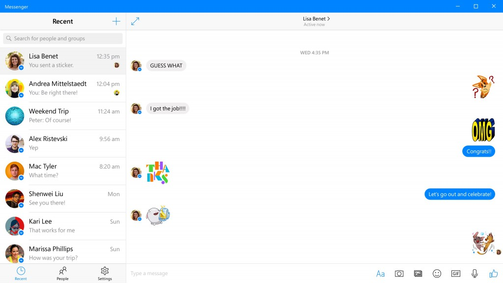 Messenger for Windows 10 PC gets updated - OneTechStop
