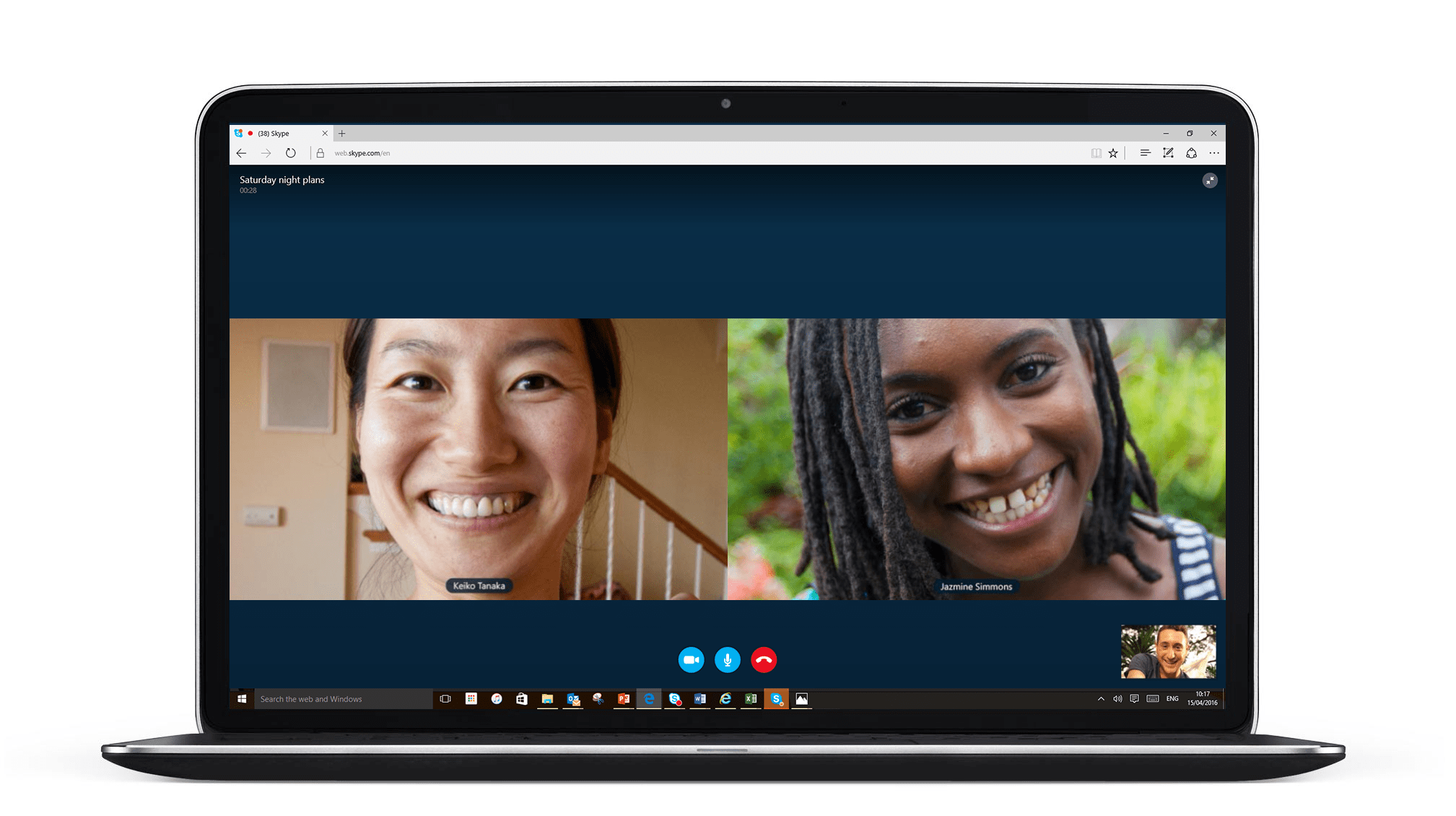 Now Enjoy the Preview of Plugin-Free Skype Video calling on