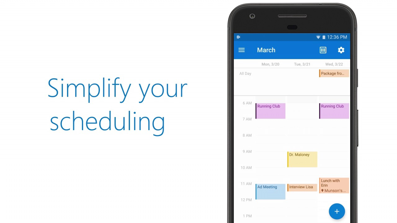 microsoft outlook for android updated with event and calendar improvements onetechstop