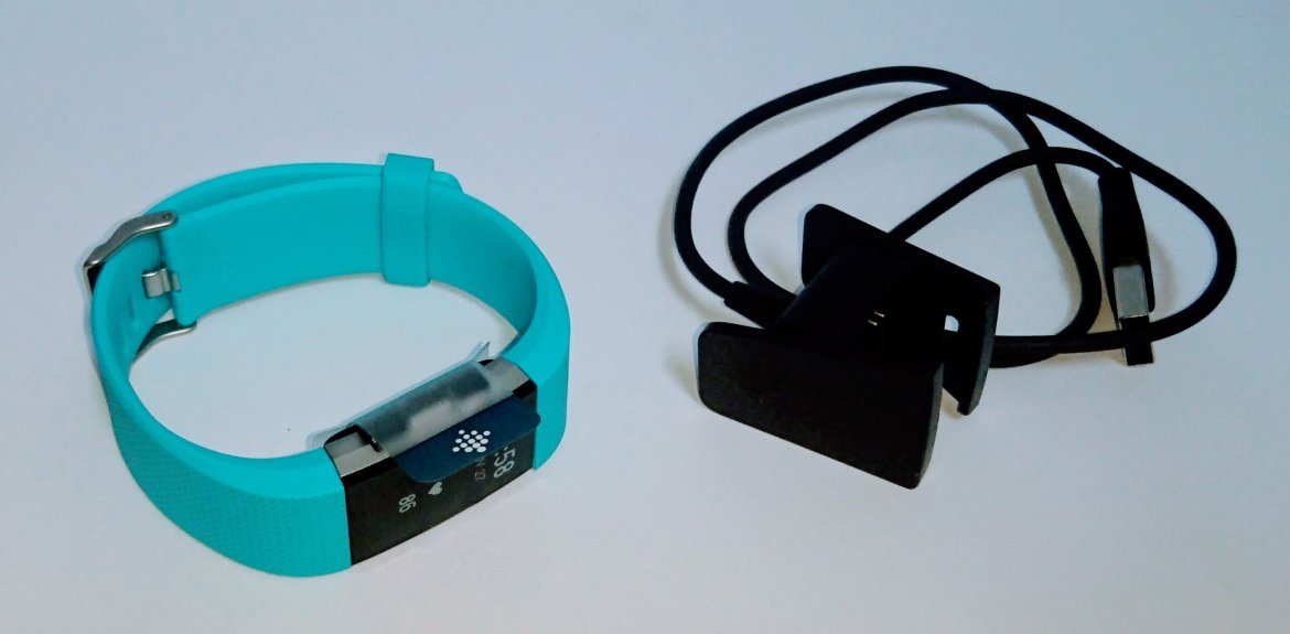Fitbit Charge 2 and Charger