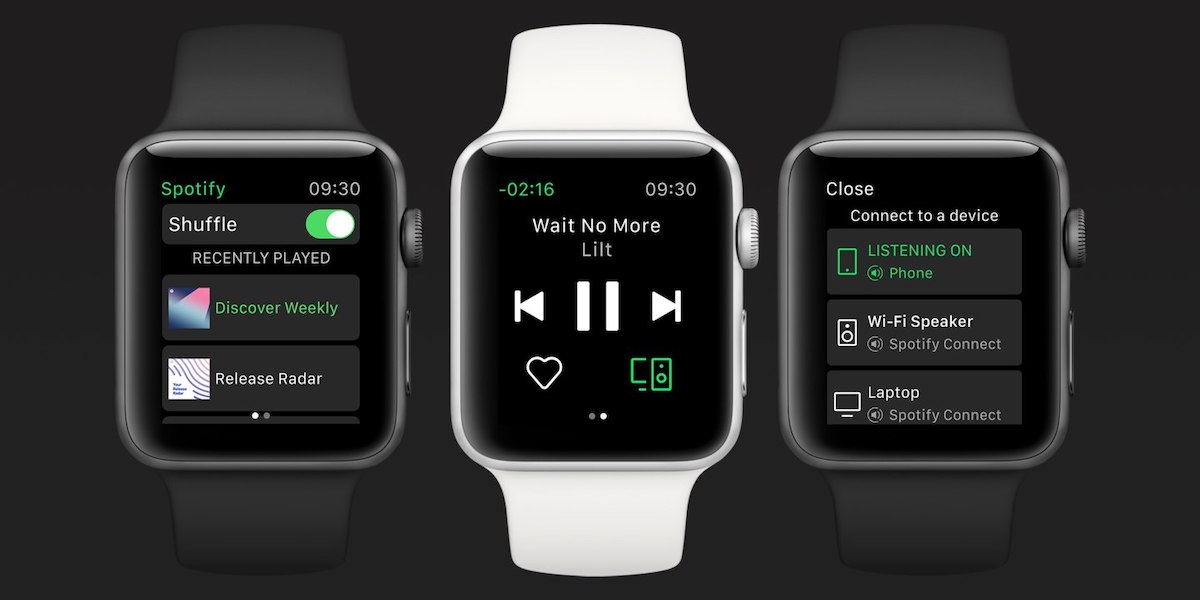 Spotify for WatchOS