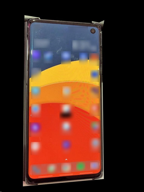 Galaxy S10 Spotted