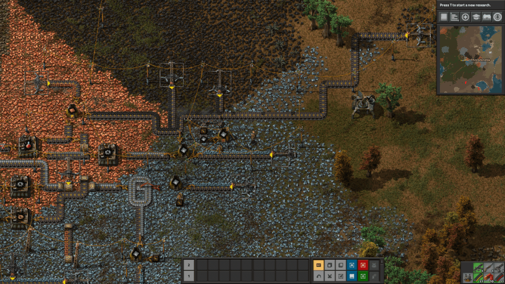 Factorio is the best factory game currently available  - OneTechStop