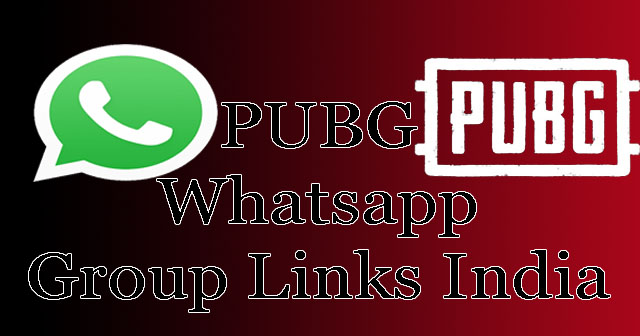 PUBG Whatsapp Group Links 2019 : Join 500+ Whatsapp Groups