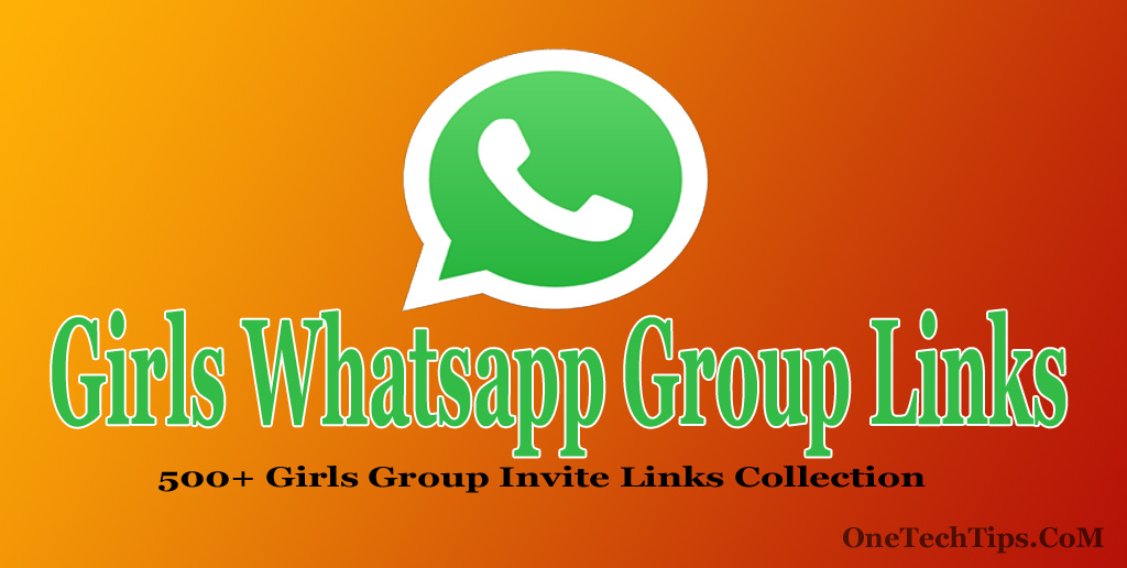 Girls Whatsapp Group Links Collection 2019 : 500+ Whatsapp
