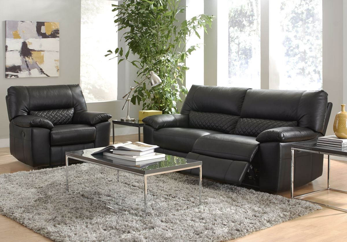 full leather recliner sofa singapore cushions replacement foam htl 1025theparty - thesofa