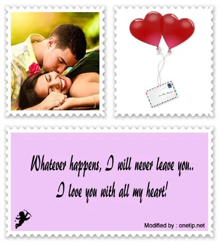 I love you my girlfriend messages