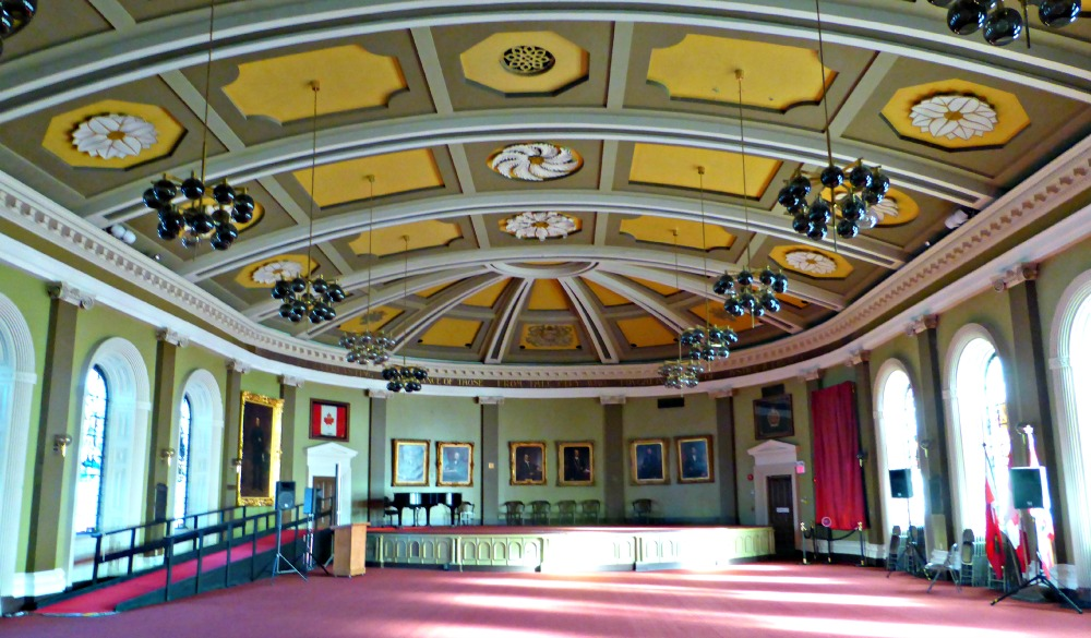 Memorial Hall in Kingston's City Hall