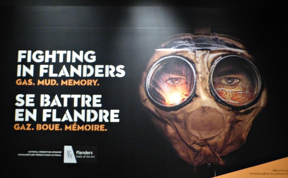Fighting in Flanders- Gas. Mud. Memory.