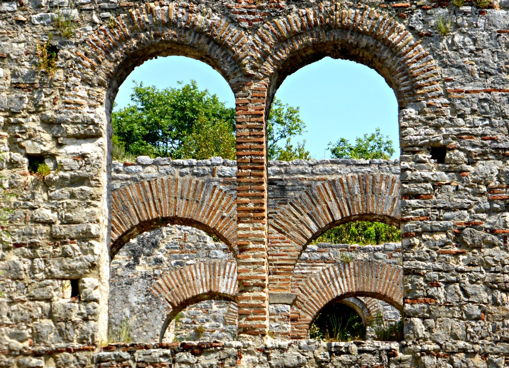 Great Basilica at Butrint, Albania