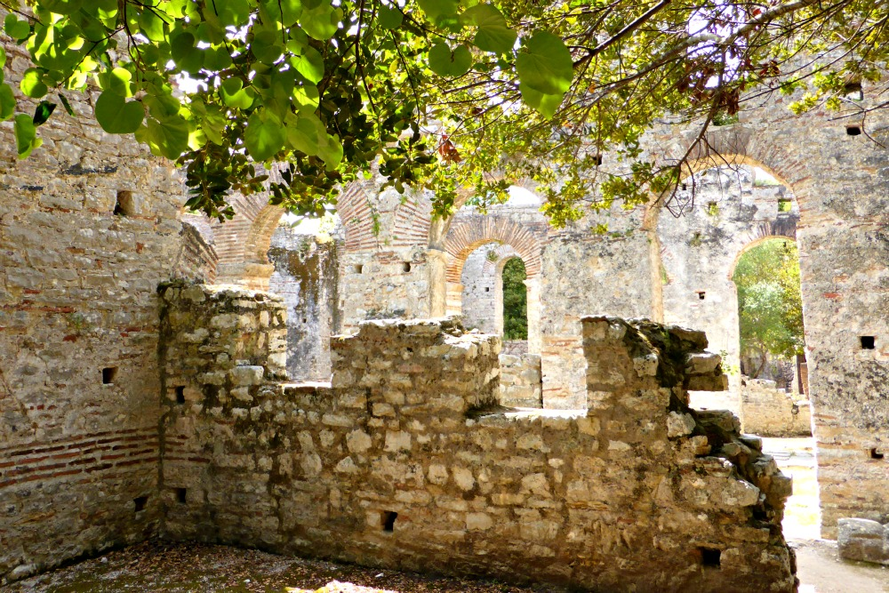 Great Basilica at Butrint, Albania