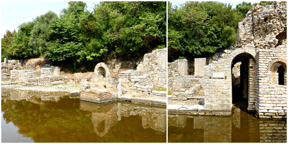 Remains of the Sanctuary of Asclepius at Butrint, Albania