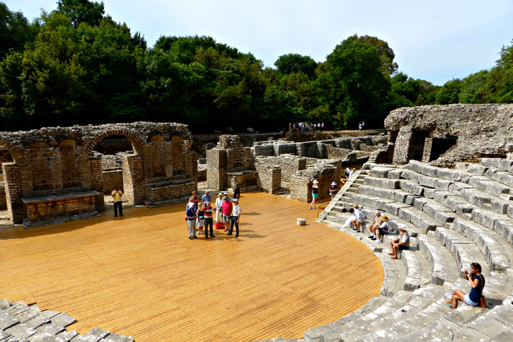 Amphitheatre at Butrint, Albania