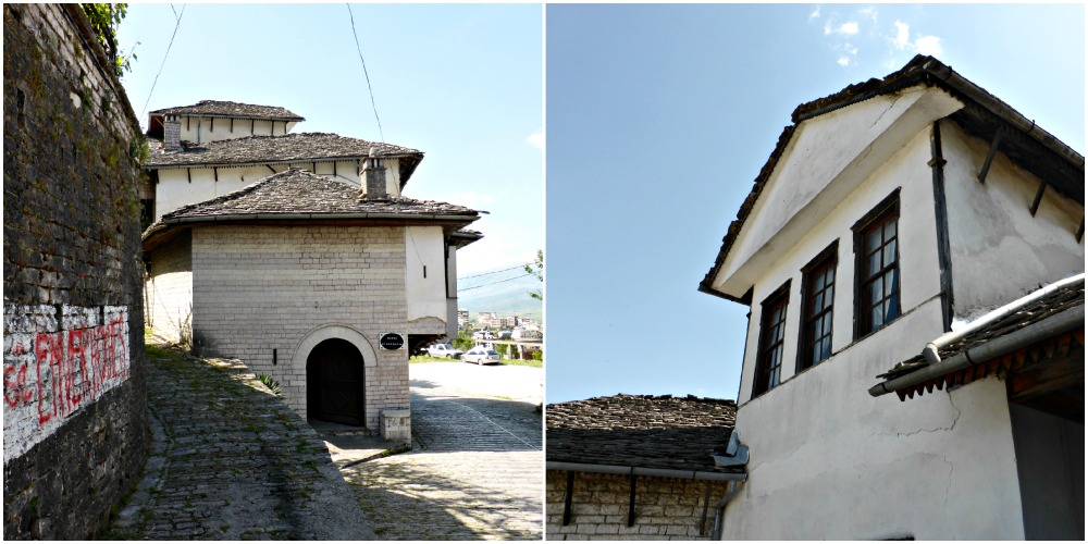 Ethnographic museum in Gjirokastra, Albania