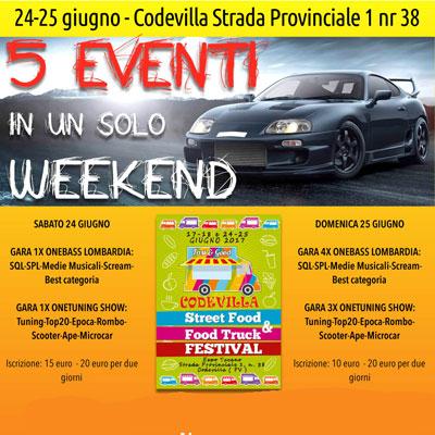 CODEVILLA (PV) – 24/25 GIUGNO 2017