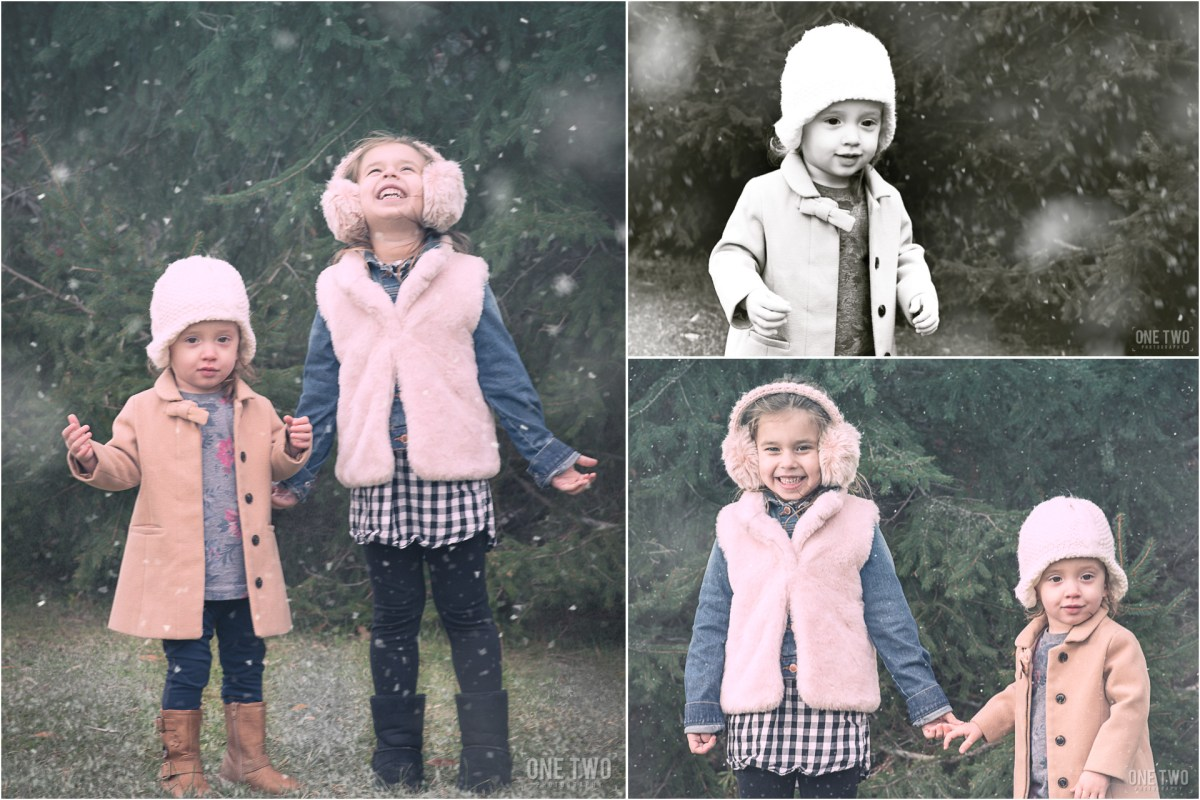 child winter portrait