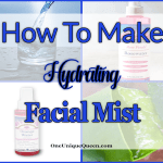 How To Make Hydrating Facial Mist