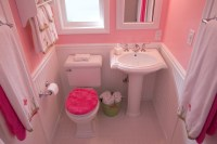 Four Pedestal Sinks in Four Very Different Bathrooms - One ...