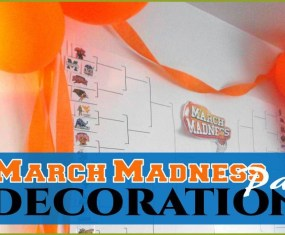 March madness decorations 2015