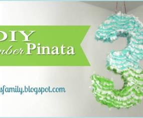 DIY Number Pinata