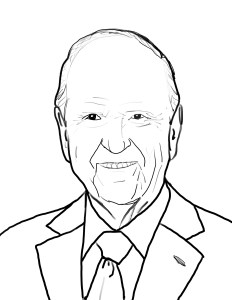 President Russel M Nelson Coloring page
