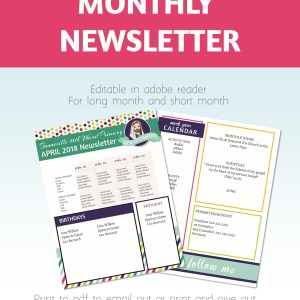 2019 Primary Newsletter