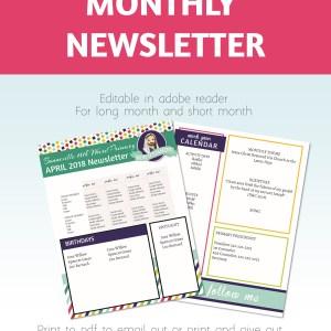 2019 Primary Newsletter