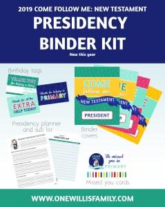 Presidency Binder Kit