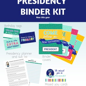 Presidency Binder Kit