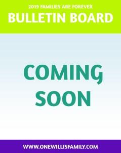 2019 Primary Theme Bulletin Board