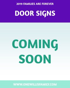 2019 Primary Theme Door signs