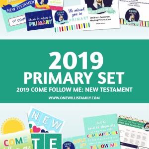 2019 Primary Presidency Kit - One Willis Family