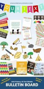 2020 Primary Bulletin board