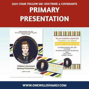 2021 Primary Presentation kit