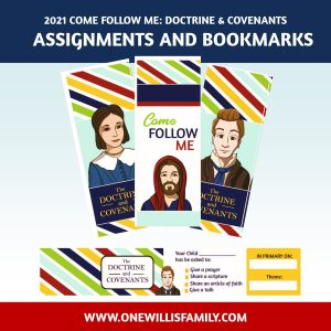 Doctrine and Covenants bookmarks