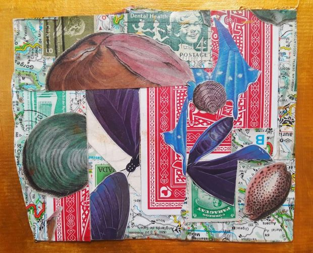 art collage by JRC onewordlong