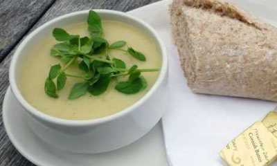 Yummy Winter Leek & Potato Soup