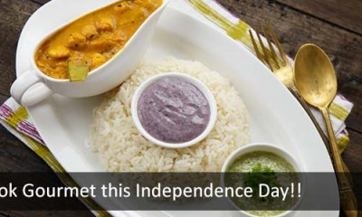 Cook Gourmet this Independence Day!!