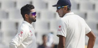 Ashwin and Jadeja force Protease on back foot on day two