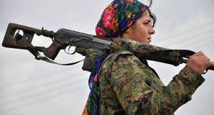 Women warriors give nightmares to ISIS