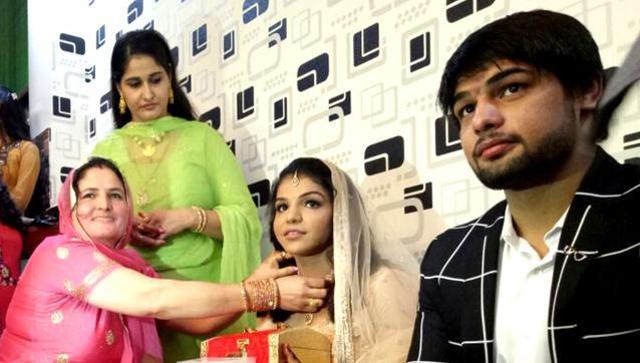 Sakshi Malik engaged to her wrestler boyfriend