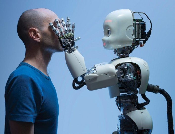 Robots are capable to imitate human motions